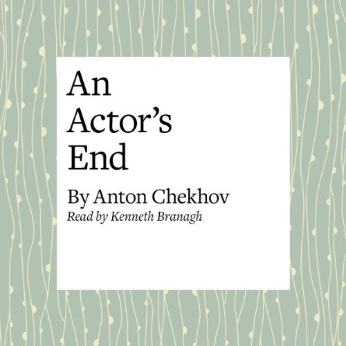 An Actor's End audiobook cover art