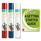 Cricut Removable RED, White, Blue 12x48 Adhesive Vinyl for DIY Home Decor