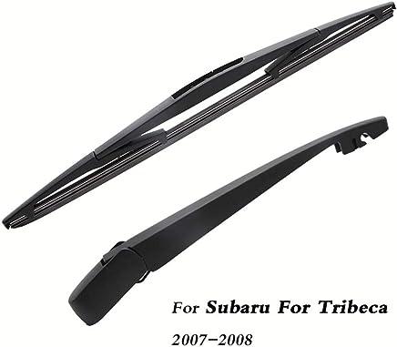 SLONGK Escobillas del Limpiaparabrisas Trasero del Coche Volver Parabrisas Brazo del Limpiaparabrisas, para Subaru Tribeca
