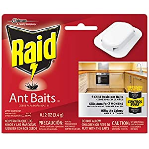 Kills the colony Kills ants for 3 months Child resistant With adhesive