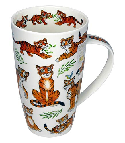 Dunoon Henley Tigerrrific Tiger - Taza (600 ml)