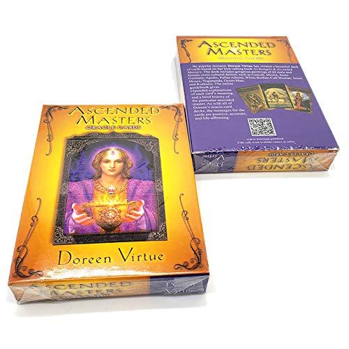 タロットかーど かわいい オラクルカード Ascended Masters Oracle Card タロット占いカード 初心者