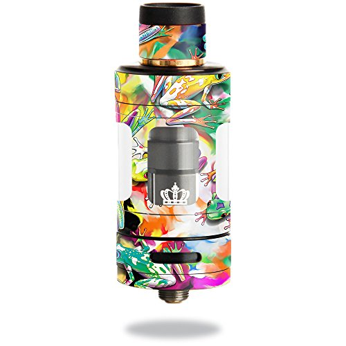 MightySkins Skin Compatible with Uwell Crown 3 Tank – Wet Paint | Protective, Durable, and Unique Vinyl Decal wrap Cover | Easy to Apply, Remove, and Change Styles | Made in The USA