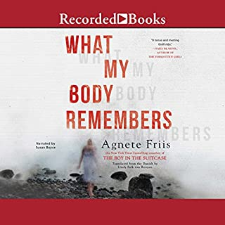 What My Body Remembers audiobook cover art