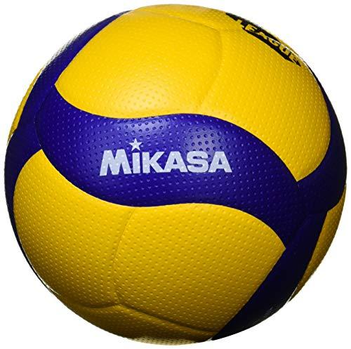 ミカサ(MIKASA) バレーボール 国際公認球・検定球 5号(一般・大学・高校)【Vリーグバージョン】イエロー/ブルー V300W-V 推奨内圧0.3(kgf/?)