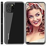 Telefonos Moviles Libres Baratos OUKITEL C21 Pro, 4GB+64GB (SD 256GB) 6,39 Pulgadas Android 11 Dual SIM Smartphone Oferta, 21MP+8MP Cámara 4000 mAh Batería Face/Fingerprint Unlock Móvil Negro