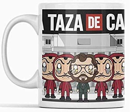 Clapper Taza LA CASA DE Papel. Taza de café Personajes