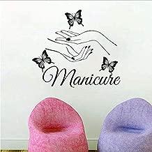 BEIKE Vinyl Wall Sticker Art Manicure Wall Decals Wall Window Art Decoration 5649Cm