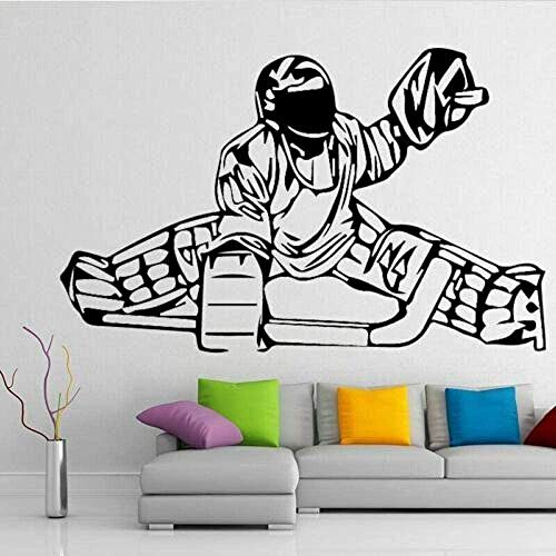 MXLYR Wandtattoo Wall Decals Human Sled Art Wall Stickers Self-Adhesive Wallpaper Baby Living Room Bedroom