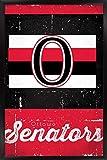 Unbekannt Trends International Wand Poster Ottawa Senatoren