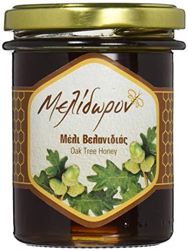 Melidoron Roher Griechischer Eichenhonig 250 g, 2er Pack