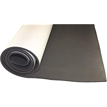 Amazon Com Water Resistant Closed Cell Foam Sheet Polyethylene Vinyl 1 2 Thick 12 W X 12 L Charcoal Pack Of 5 Home Improvement