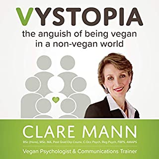 Vystopia: The Anguish of Being Vegan in a Non-Vegan World audiobook cover art