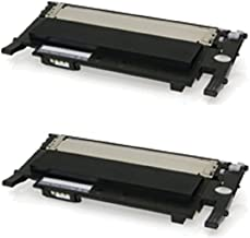 WORLDS OF CARTRIDGES Compatible Toner Cartridge Replacement for Samsung CLT-K404S (2-Pack: 2X Black) for Use in Xpress SL-C430 / SL-C480