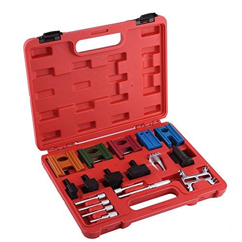 19-teiliges Zahnriemensatz, Universal Kette, Nockenwelle Schwungrad Arretierwerkzeug Set