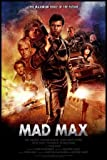 MAD MAX – Mel Gibson – US Movie Wall Poster Print - A4