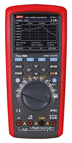 Uni-Ball T ut181a/mie0171Multímetro Digital ut181a