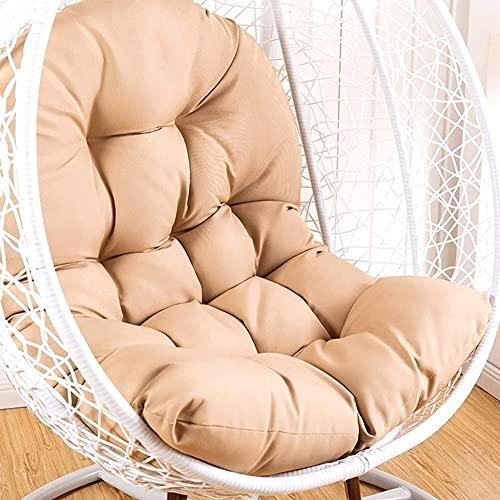 ZHANGCHI Cojín colgante para silla, cojín doble para colgar, un colchón colgante, cojín de silla de cuna, cojín de mimbre de verano, impermeable (color: A)