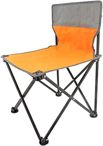 ventas en linea Silla Plegable Portátil Parque Al Aire Aire Aire Libre Camping Silla Plegable Picnic Portátil Silla Silla Plegable para Adultos (Color   naranja, Talla   33  52cm)  punto de venta