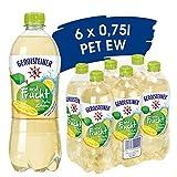Gerolsteiner und Frucht Apfel Zitrone / Natrliches Mineralwasser mit prickelnder Kohlensure - mit 20% Fruchtsaftgehalt aus pfeln und Zitronen / 6 x 0,75 L PET Einweg Flaschen