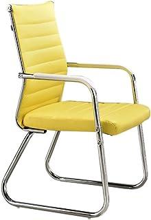 : fauteuil de bureau Jaune Chaises et
