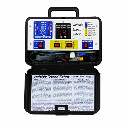 Zebra Instruments VZ-7 Variable Speed Zebra- ECM Diagnostics