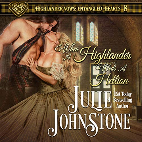 When a Highlander Weds a Hellion audiobook cover art