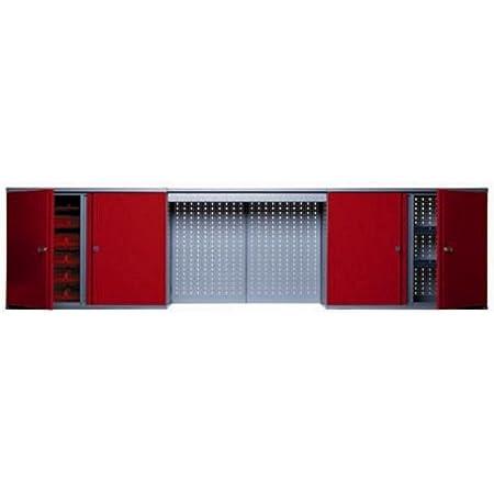 Kupper 70182 - Armario, color rojo
