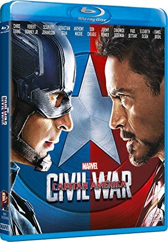 Capitán América: Civil War [Blu-ray]