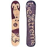 Bextreme Planche de snowboard pour femme/fille/enfant 145 cm Eco-Board...