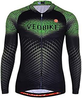 SonMo men's cycling jersey sports clothing riding suit mountain biking suit cycling clothing cycling jersey cycling shirt sports jacket long sleeve spring and autumn, xxl