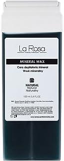 La Rosa cera depilatoria roll on mineral wax para el vello fuerte y grueso - 100 ml