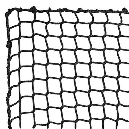Aoneky Red de Práctica de Béisbol - Red Deportiva Grande de 3×3M, Red de Entrenamiento de Golpear Golf Béisbol Softbol, Red de Detención, Red de Barrera, Accesorios Deportivos al Aire Libre, Negro ✅
