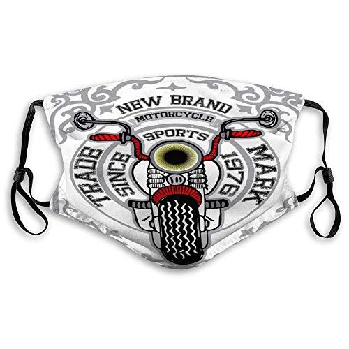 Unisex gezichtsmasker herbruikbare maskers motorfiets grafische sportstijl