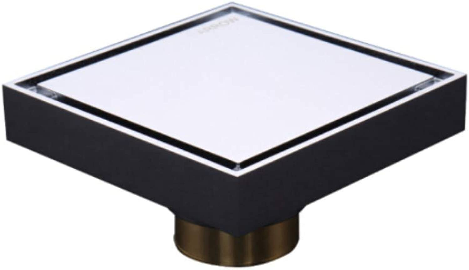 Floor Draincopper Bathroom Sewer Dry and Wet Universal Large Displacement Anti-Water Invisible Floor Drain