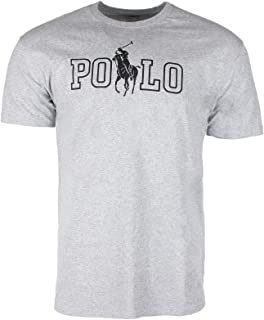 Ralph Lauren Polo Men's Athletic Wear Short Jockey Graphic Gym Workout T-Shirt