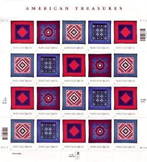 amish postage stamp quilt