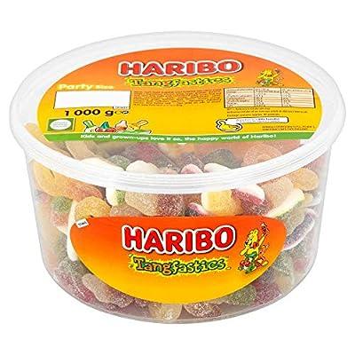 haribo tangfastics sour bulk sweets, 1kg Haribo Tangfastics 1kg sweets party tub 51Etu imidL