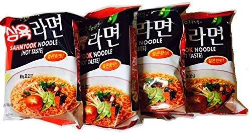 Sahmyook Spicy VEGAN Ramen, 4 Ounce (4 Pack)