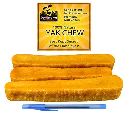 Downtown Pet Supply Chew Del Perro Del Himalaya Yak, 1 Lb