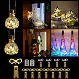 Wine Bottle Lights with Cork,DIY String Light Ornaments for Tables,Parties, bar...