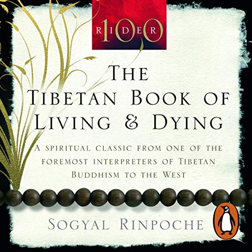 『The Tibetan Book of Living and Dying』のカバーアート