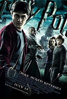 harry potter and the half blood prince 2009 poster