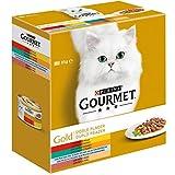 Cat Wet Gourmet Gold Double Pleasure Assorted Pack 680 G
