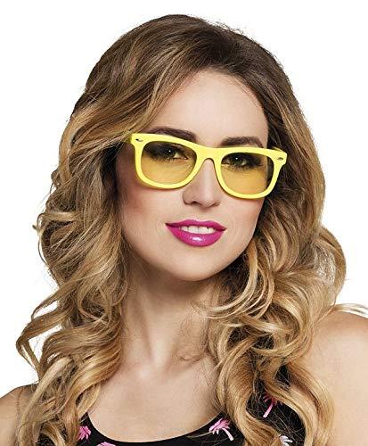 TH-MP 90er 80er Jahre Brille Sonnenbrille Party Outfit Zubehör Mottoparty JGA Junggesellenabschied Kostüm Accessoire Unisex