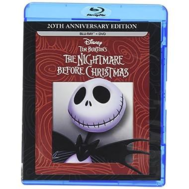 Tim Burton's The Nightmare Before Christmas - 20th Anniversary Edition (Blu-ray/DVD Combo Pack)