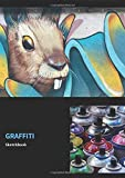 Graffiti Sketchbook: 8,27 x 11,69 Inches | Graffiti Sketchbook with 108 empty Pages for Sprayer for self-design | Perfect Gift for an Artist | (v. 8)