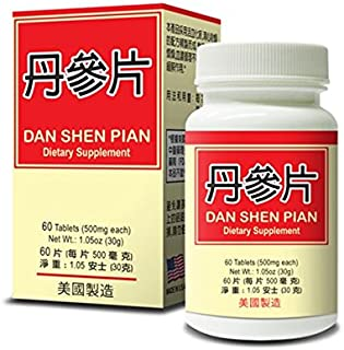 Dan Shen Pian :: Healthy Heart :: Herbal Supplement for Promoting Circulatory System :: Made in USA