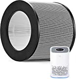 Air Purifier Replacement Filter Compatible with Taotronics TT-AP006, Generic Replacement filter for Medify MA-14, True H13 HEPA High-Efficiency Filter Eliminate Smoke, Dust, Pollen, Dander