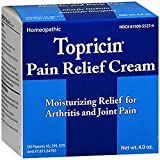Topricin Pain Relief and Healing Cream - 4 oz, Pack of 3